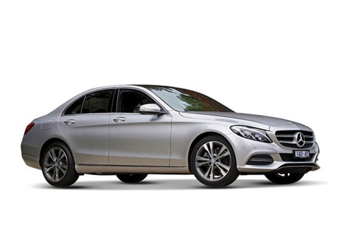 Rent a Mercedes C200 in Dubai