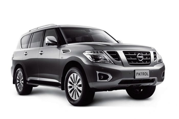 Rent a Nissan Patrol Platinum in Dubai