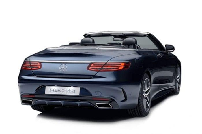 Mercedes S500 Convertible
