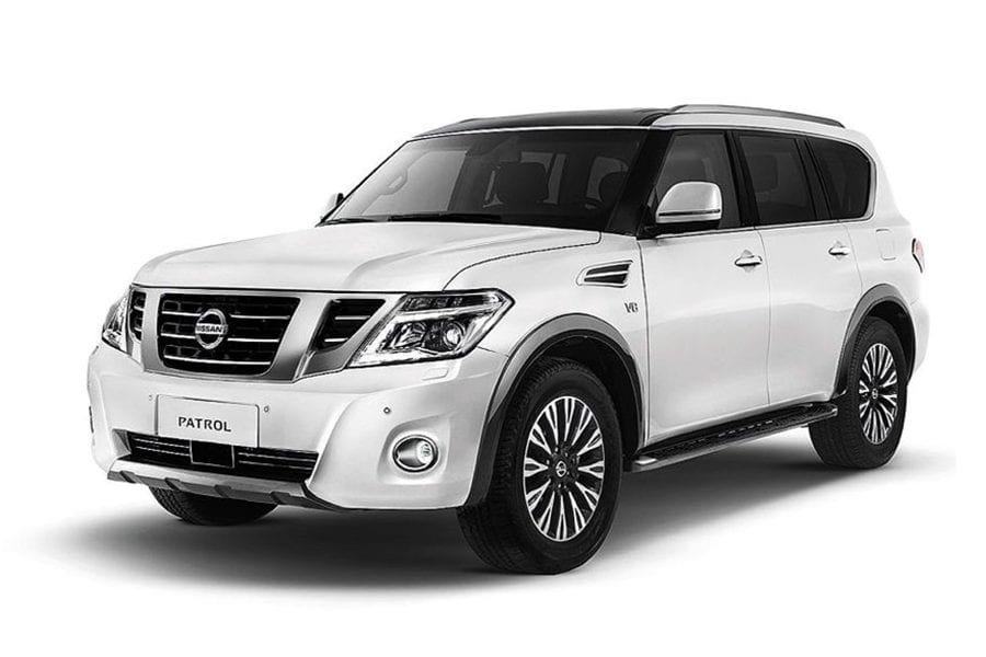 Nissan Patrol for rent in Dubai.