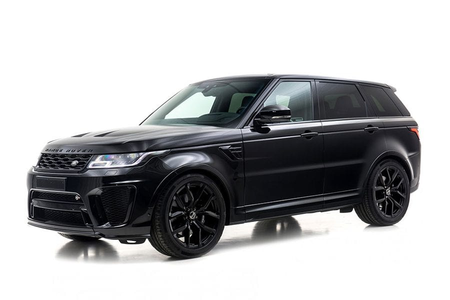 Range Rover SVR the ultimate luxury SUV for hire when you are in Dubai
